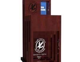 #142 para Design wood trophy por buaan