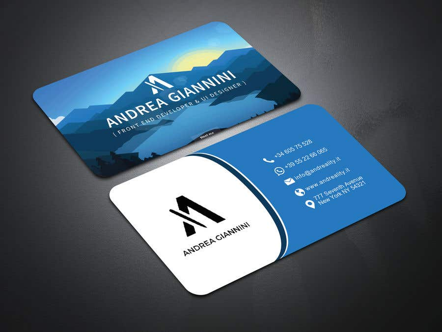 Contest Entry #116 for Andreality business cards