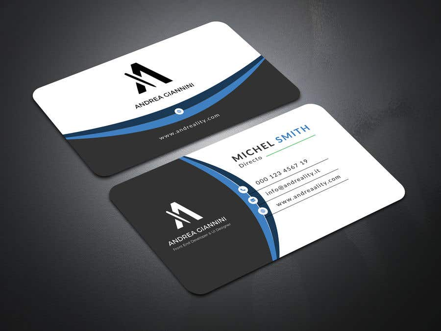 Contest Entry #35 for Andreality business cards