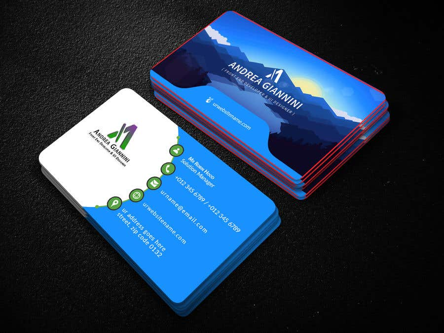 Contest Entry #155 for Andreality business cards
