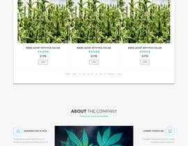 #2 para Need an attractive and simple website for Cannabis Products de sagorahmead