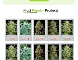 #8 para Need an attractive and simple website for Cannabis Products de R0hAN98