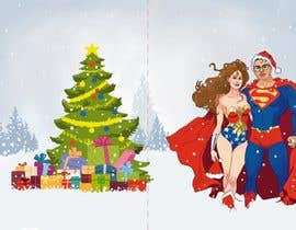 #33 for Cartoon drawings(Marvel like) of me and my girlfriend for a christmas cards af kaushalyasenavi