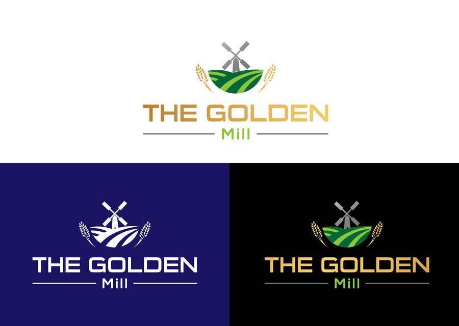"Entri Kontes #4 untukA Logo for ""The Golden Mill"""