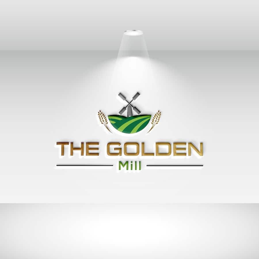 "Entri Kontes #6 untukA Logo for ""The Golden Mill"""
