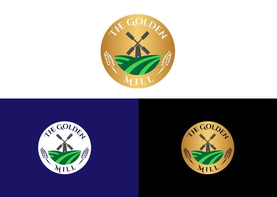 "Entri Kontes #8 untukA Logo for ""The Golden Mill"""