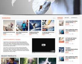 Nro 13 kilpailuun Design a Website Mockup for Earnest J. Ujaama käyttäjältä webgraphics007
