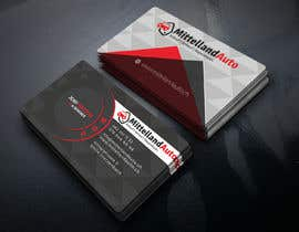 #124 for new Business card Design by usukuks