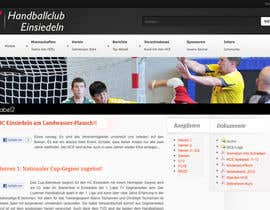 #12 dla Logo integration into existing html template for a local sports club (handball) przez FatXGraphics