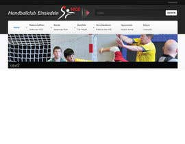 #16 para Logo integration into existing html template for a local sports club (handball) por foxxed