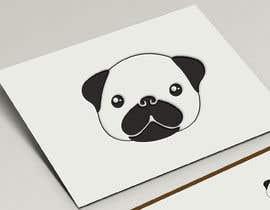 #17 для I need a Pug head as a logo for my fashion brand от ArkoRana