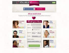 #38 para Website Design for Dating website homepage por FragileFury