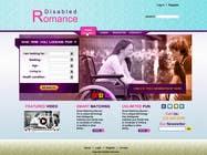 Graphic Design Inscrição do Concurso Nº15 para Website Design for Dating website homepage