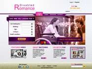 Graphic Design Inscrição do Concurso Nº17 para Website Design for Dating website homepage
