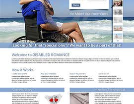 Dzains tarafından Website Design for Dating website homepage için no 25