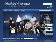 Graphic Design Inscrição do Concurso Nº37 para Website Design for Dating website homepage