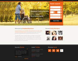 #11 for Website Design for Dating website homepage af osdesigns