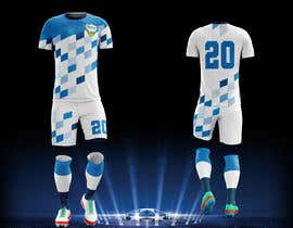 Nro 18 kilpailuun Design me a soccer jersey käyttäjältä fallarodrigo