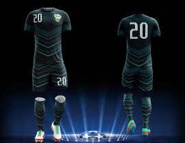 Nro 25 kilpailuun Design me a soccer jersey käyttäjältä fallarodrigo