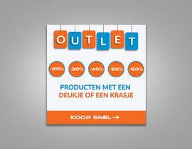 #87 for outlet banner by SEFAT10