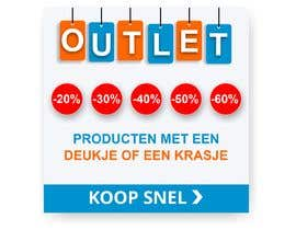 #127 for outlet banner by nabeel1vw