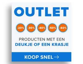 #143 for outlet banner by johannes18