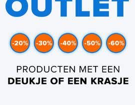 #163 for outlet banner by johannes18