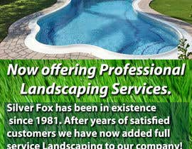 nº 4 pour Advertisement Design for Landscaping Service par smileystl