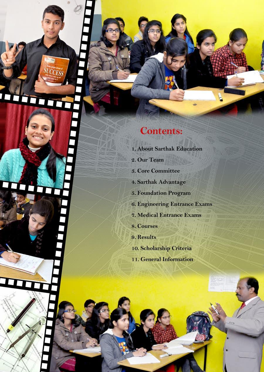 brochure design for training institute - design a brochure for coaching institute for iit pmt