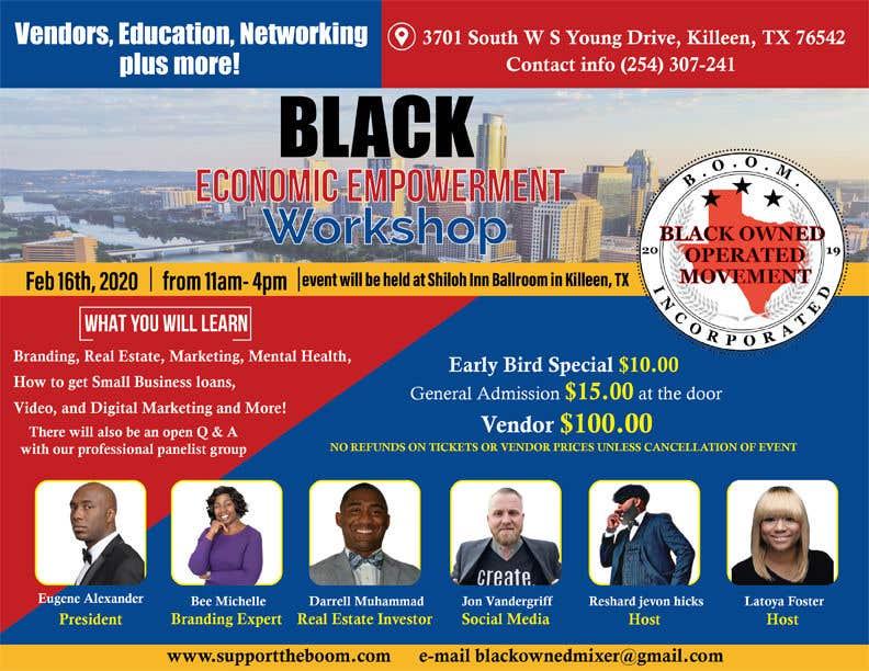Penyertaan Peraduan #                                        30                                      untuk                                         Support The Boom Presents Black Economic Empowerment Workshop