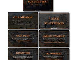#34 untuk Artwork for Mission, Vision and Value Statements oleh FALL3N0005000