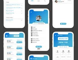 #22 cho Redesign a sample of 5 app pages bởi HiranTharinda