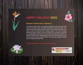 #51 för Redesigning Holiday Postcard av MDALAMIN2919