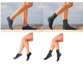 #12 pentru Photo Shop Sock images on to models for ecomerce website de către Pravidraws