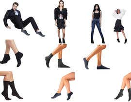 #20 pentru Photo Shop Sock images on to models for ecomerce website de către susarmin45