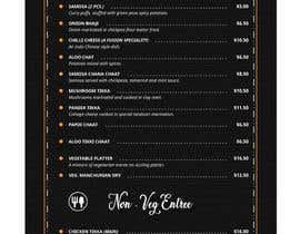 #48 для Need a restaurant Menu designed от aks4hire