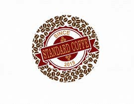 Aelxander tarafından Coffee shop logo design 1- Preferably, it should be related  to the name 2- It is simple and attractive 3- He should be attractive in colors such as red, black and white Cafe name (standard coffee) için no 1082