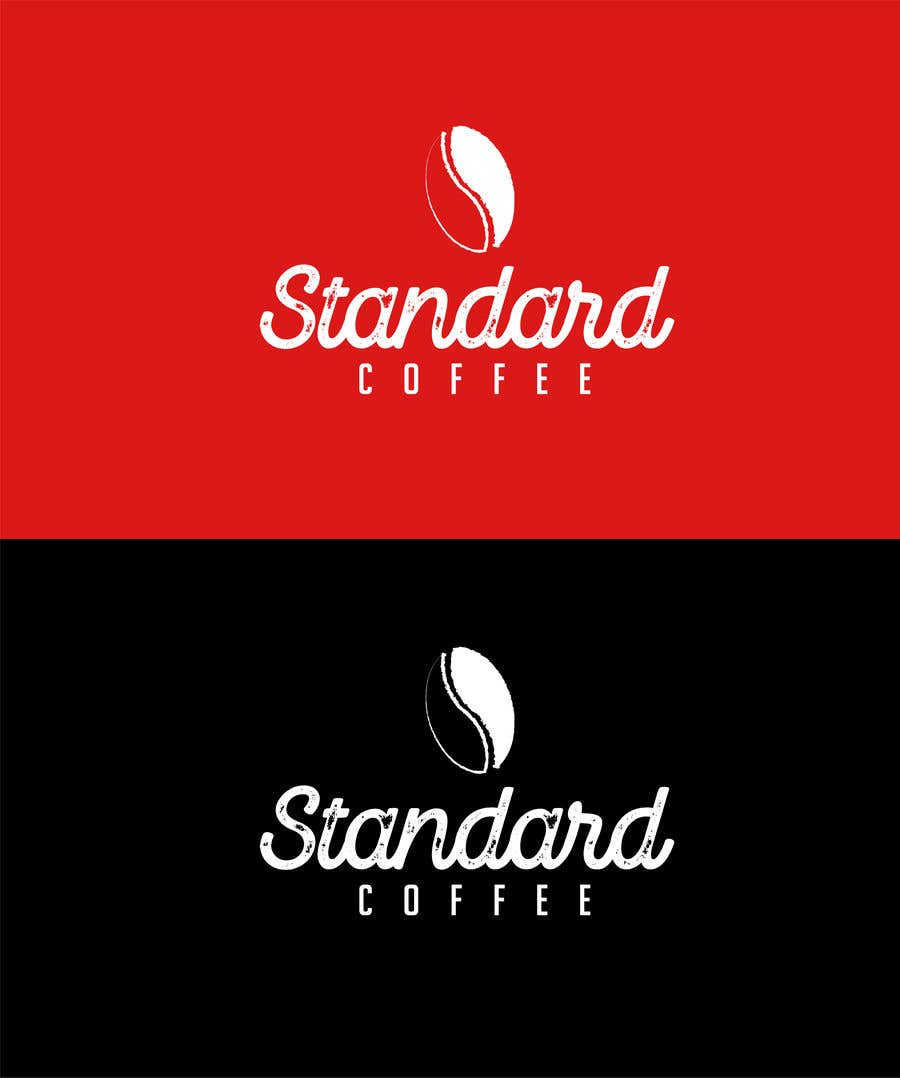 Konkurrenceindlæg #911 for Coffee shop logo design 1- Preferably, it should be related  to the name 2- It is simple and attractive 3- He should be attractive in colors such as red, black and white Cafe name (standard coffee)