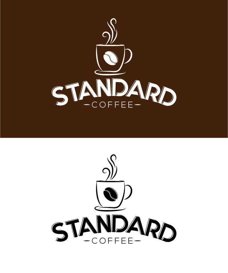 Konkurrenceindlæg #                                        1020                                      for                                         Coffee shop logo design 1- Preferably, it should be related  to the name 2- It is simple and attractive 3- He should be attractive in colors such as red, black and white Cafe name (standard coffee)