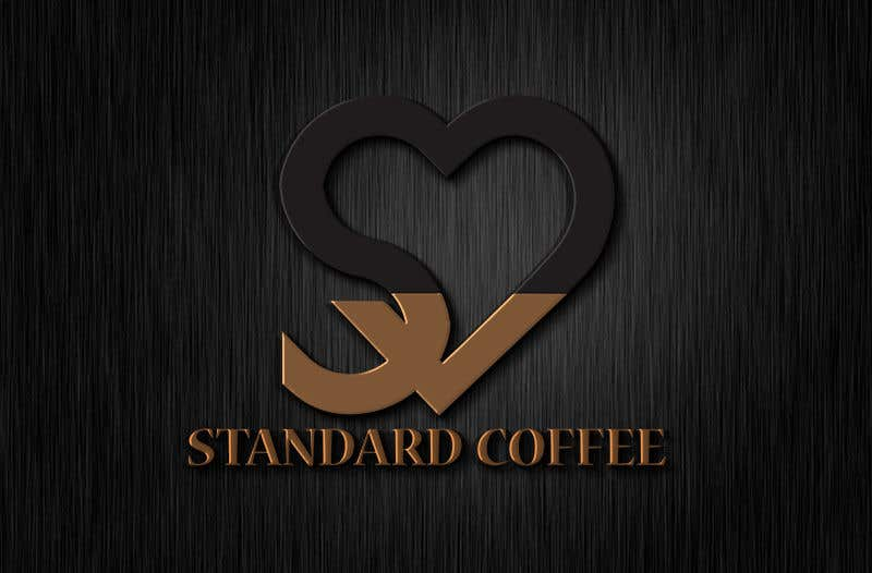 Konkurrenceindlæg #995 for Coffee shop logo design 1- Preferably, it should be related  to the name 2- It is simple and attractive 3- He should be attractive in colors such as red, black and white Cafe name (standard coffee)