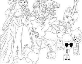 nº 10 pour Draw me a A4 Size Illustration par ashvinirudrake13