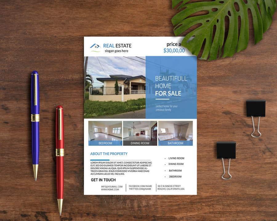 Konkurrenceindlæg #17 for Real Estate For Sale Flyer