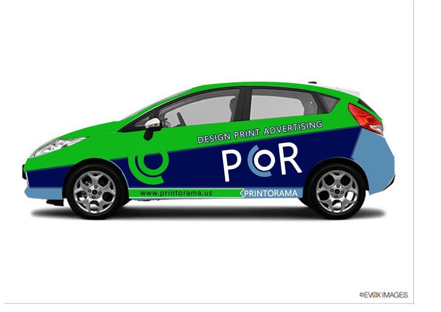 Bài tham dự cuộc thi #177 cho Graphic Design for Vehicle wrap and Logo