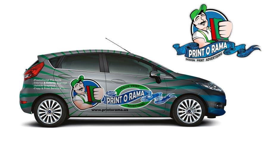 Bài tham dự cuộc thi #138 cho Graphic Design for Vehicle wrap and Logo