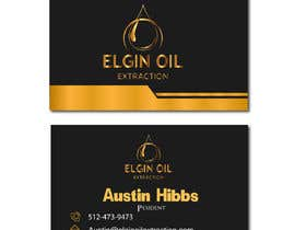#49 pentru Simple Card Design For Oil Company de către alonerakib4262