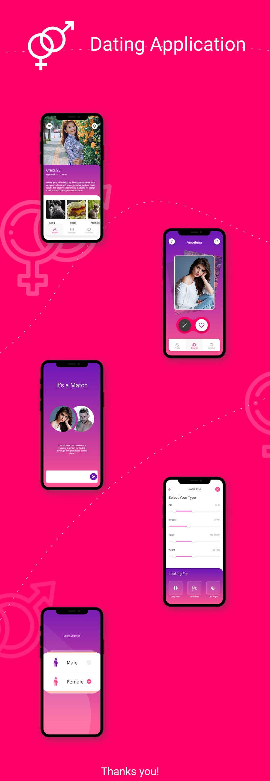 Contest Entry #                                        17                                      for                                         Dating Website/App Creatives