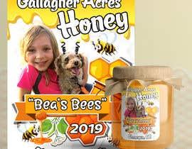 #23 for Design a Honey Jar Label by zmdes