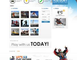 #39 untuk Website Design for Let's Go Play Outside oleh arcBshopEyek