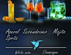 #11 для Build me an attractive stand out Cocktail Menu featuring 3 Cocktails and other drinks as well от ecemozkurt