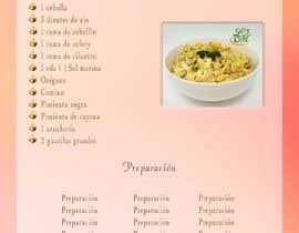 #15 untuk Diseno de Recetario Con estilo navideno oleh YvanaP